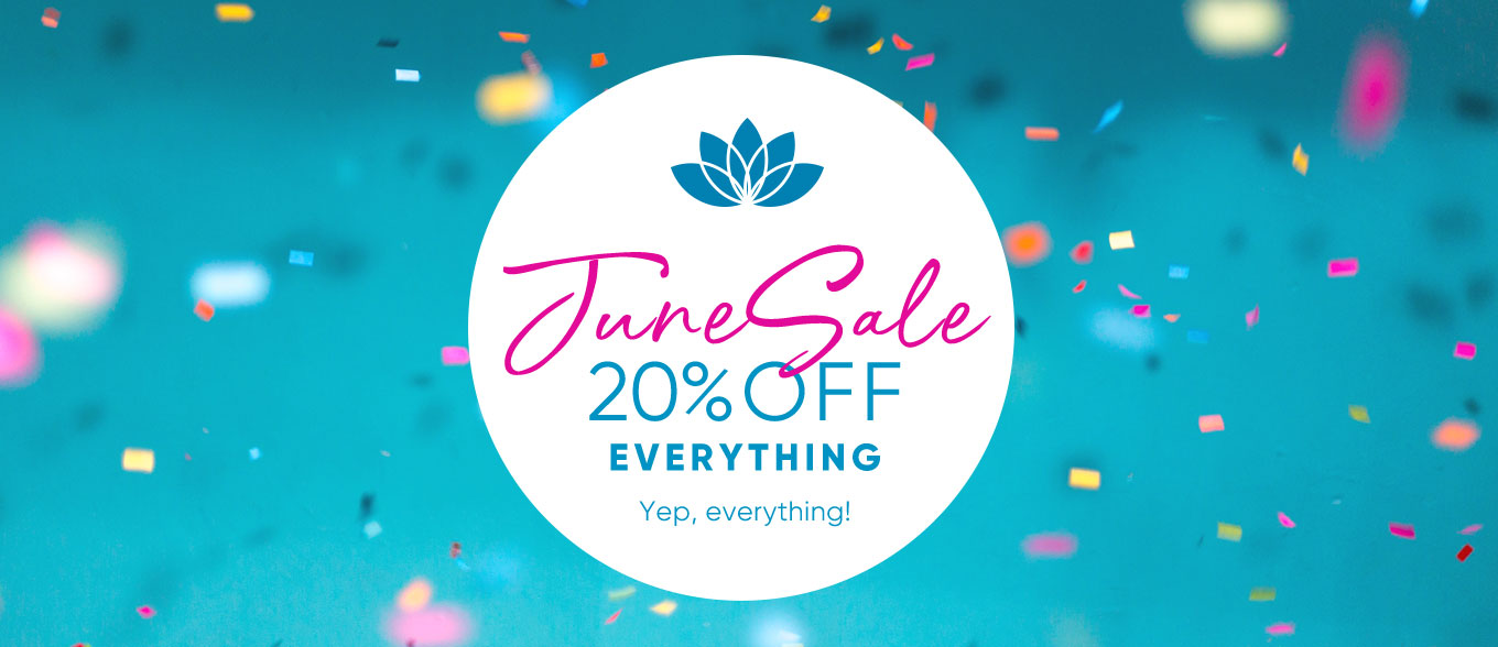 June Sale - 20% OFF Everything