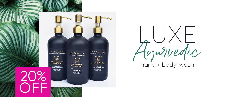 luxe ayurvedic hand & body wash