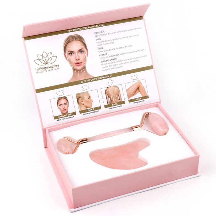 Rose Quartz Facial Spa Set